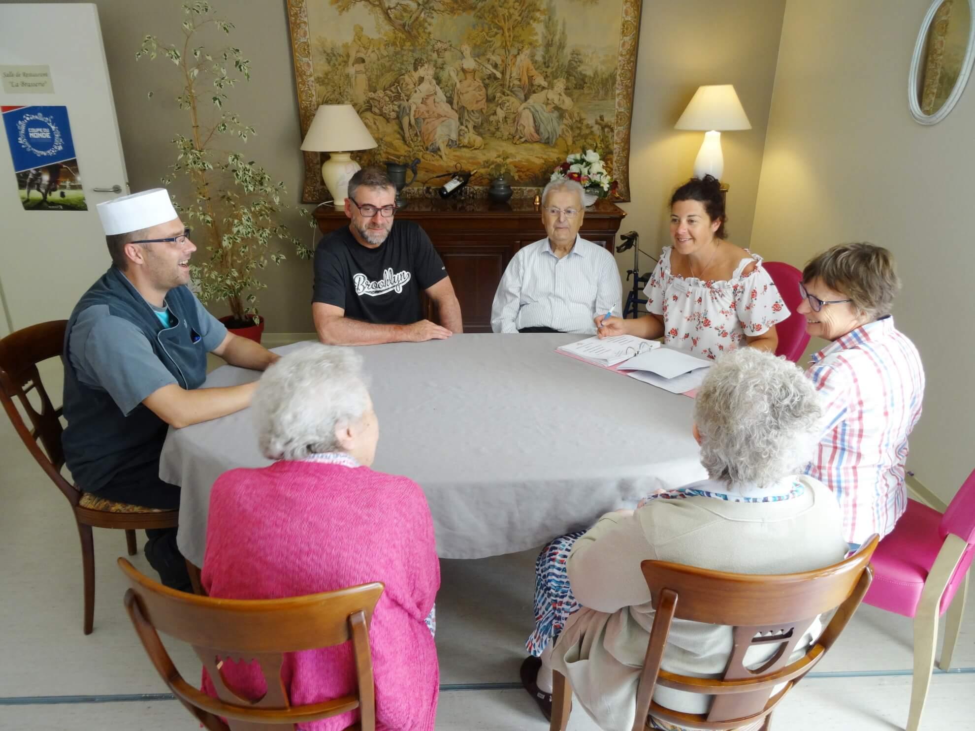 commission restauration maison de retraite les lilas